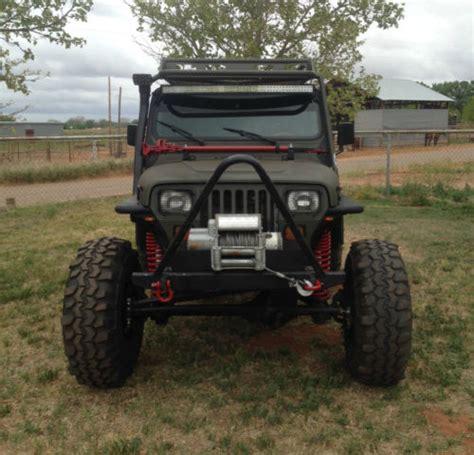 4 door jeep rock crawler 1989 jeep wrangler yj 4x4 2 door 4 0l rock crawler quot no