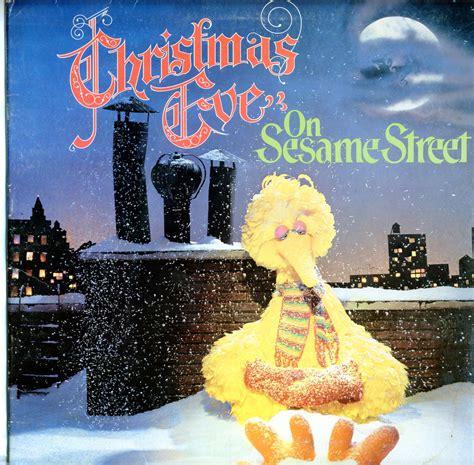 sesame street christmas eve  ctw christmas vinyl record lp albums  cd  mp