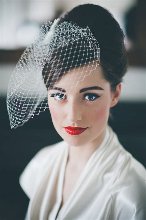 Vintage Bridal Hairstyles by Retro Wedding Hairstyles Hitched Co Uk