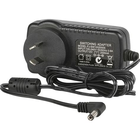 Adaptor Ikan ikan 12v ac adapter with type 1 australian ac 12v 2a typei
