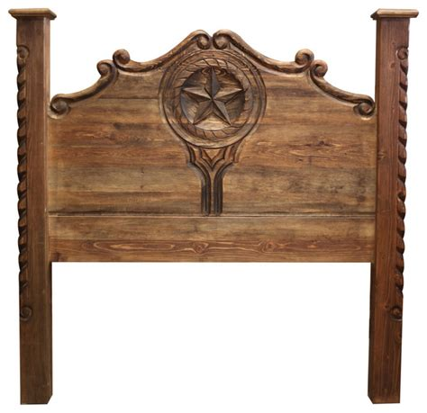 hand carved headboards hand carved rustic bed queen southwestern headboards