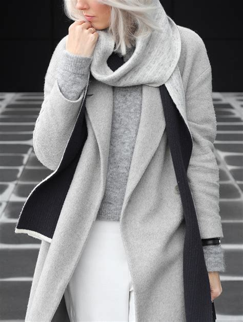 Trend Worth Trying White Gray Sweaters by Grey Knitwear Grey Layers Grey Grey Is A