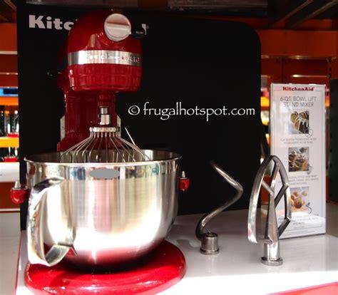 Kitchen Mixer Costco Costco Sale Kitchenaid 6 Qt Bowl Lift Stand Mixer Free
