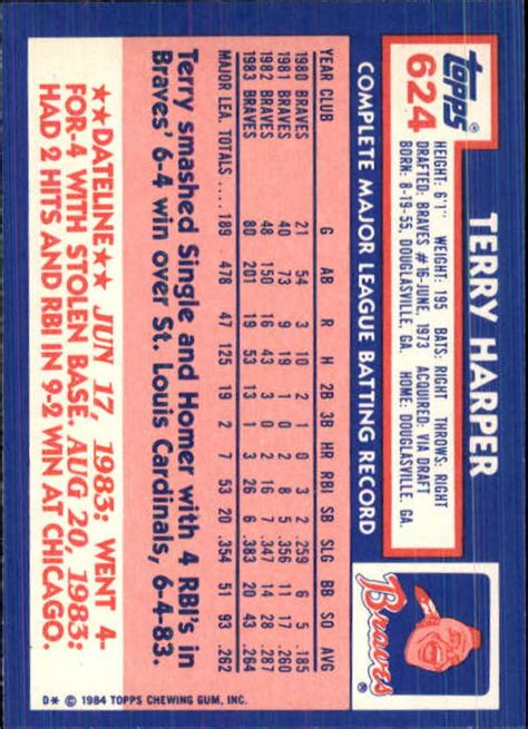 Sell Tiffany Gift Card - 1984 topps tiffany baseball 602 792 choose your cards ebay