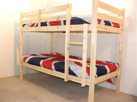 heavy duty bunk beds goliath 3ft single solid pine heavy duty low bunk bed