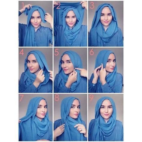 hijab tutorial voluminous 1000 images about how to close hijab styles on pinterest