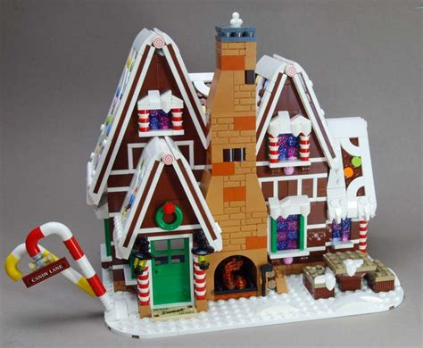 lego creator expert  gingerbread house im review