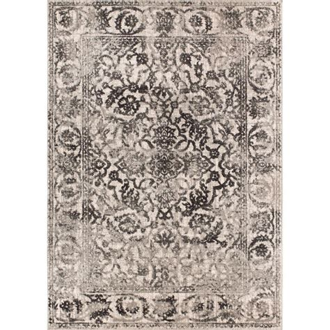 rugs sheffield well woven sydney vintage sheffield grey 5 ft 3 in x 7 ft 3 in traditional area rug 22875