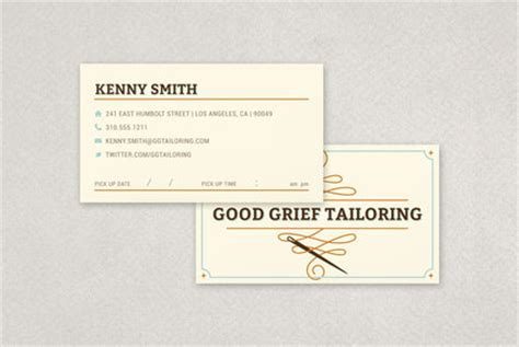 tailoring and alterations business cards template professional tailoring business card template inkd