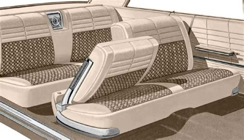 chevy impala with bench seat 1964 chevrolet impala parts interior soft goods seat upholstery upholstery kits classic