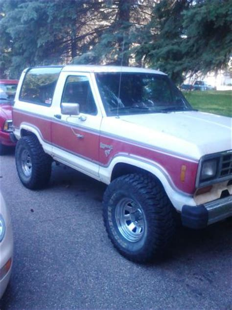 how does cars work 1984 ford bronco ii electronic valve timing buy used 1984 ford bronco ii lifted mud truck in willmar minnesota united states for us 4 000 00