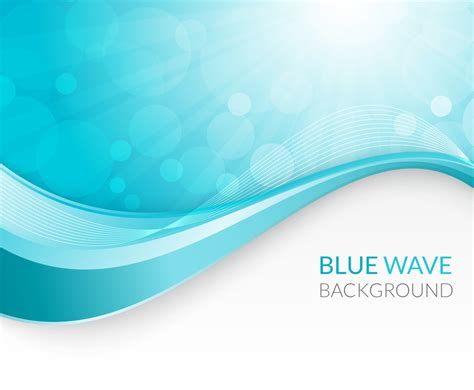 blue wave background blue wave background vector graphics freevector