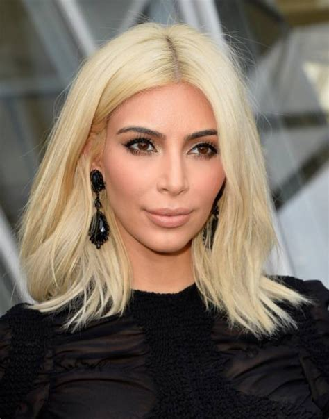 is kim kardashian s blonde hair actually a wig metro news