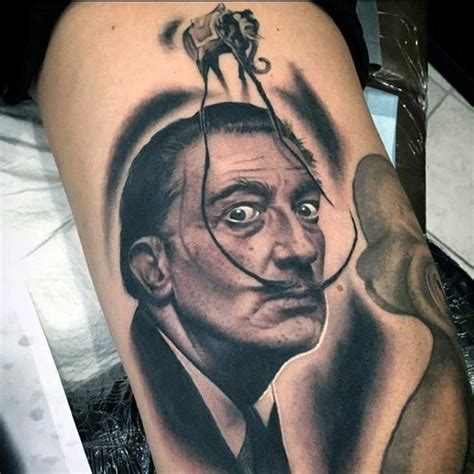 salvador dali elephant tattoo 50 salvador dali elephant designs for