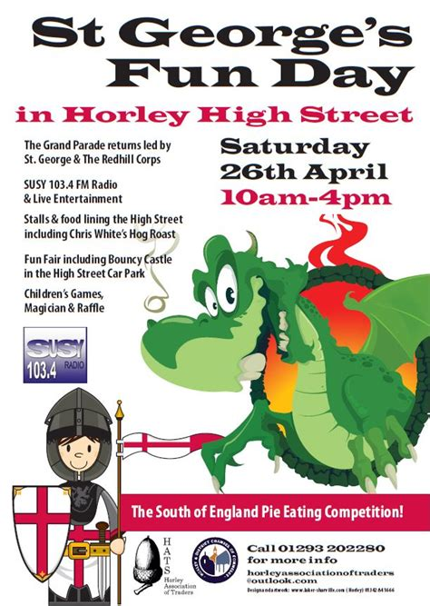 st george s day 2014 st george s day in horley susy radio