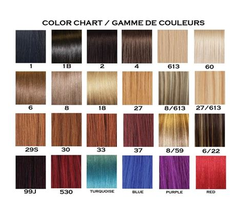 color hair extensions human hair extensions color chart remy hair extensions