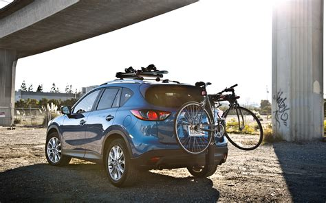 Mazda 5 Bike Rack by 2013 Mazda Cx 5 Grand Touring Fwd Rear Three Quarter Bike