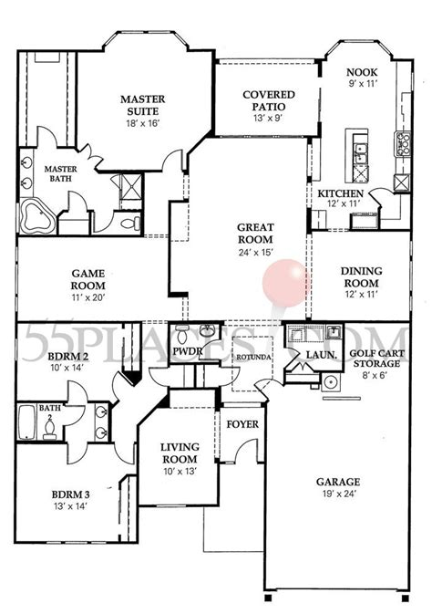 deleon floorplan 2764 sq ft sun city