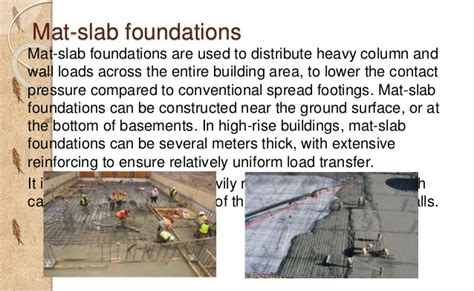 image gallery mat slab foundation