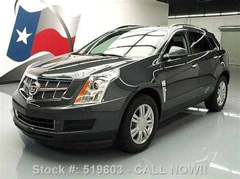 Cadillac Ctr by Sell Used 2011 Cadillac Srx 3 0l Cruise Ctrl Spoiler 18 S