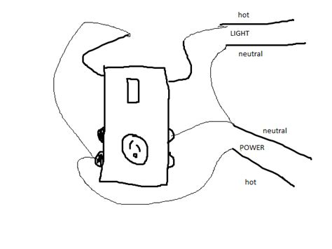 gfi switch outlet bination wiring diagram gfi free