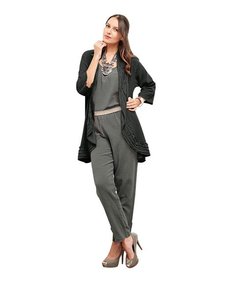 Comfortable Jackets by Oh Gauze Open Jacket 100 Comfortable Cotton