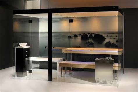 moderne sauna glas sauna wellness zu hause archzine net