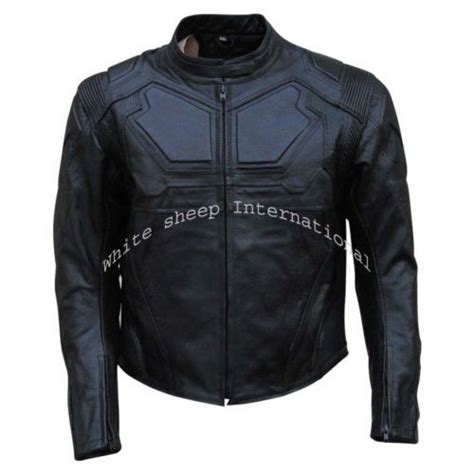 Motorrad Lederjacke Carpe Diem by Men Tom Cruise Oblivion Movie Jack Harper Leather Jacket