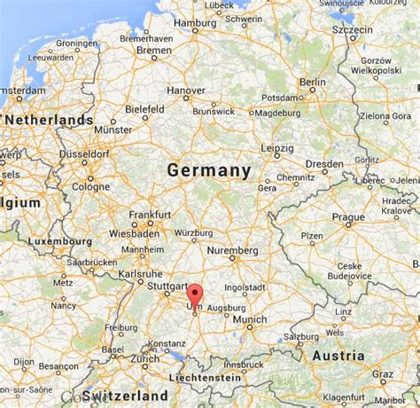 map of ulm germany where is ulm on map germany world easy guides
