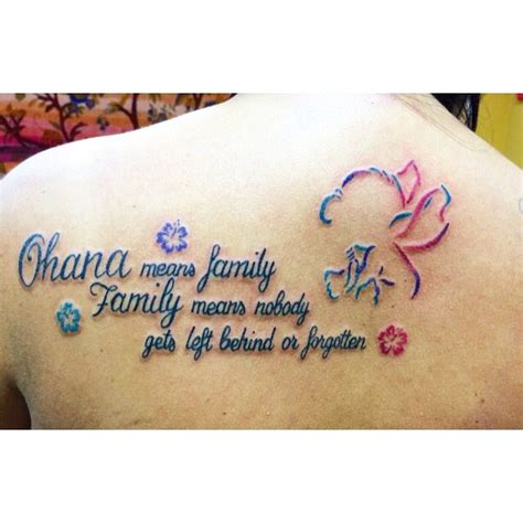 family tattoo tumblr ohana means family www pixshark
