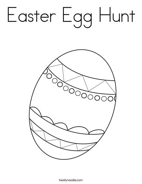 coloring pages easter egg hunt easter egg hunt theme and activities educatall sketch