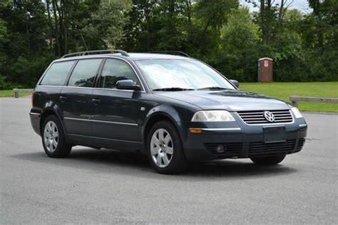 2001 Volkswagen Passat Wagon by Buy Used 2001 01 Vw Volkswagen Passat Wagon V6 Glx 4motion