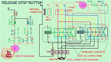 magnetic contactor wiring diagram motherwill