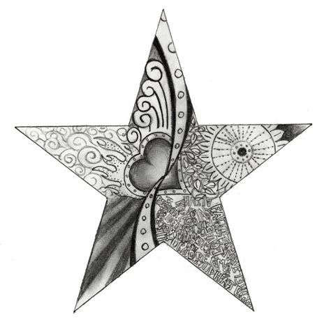 star design for tattoo the gallery for gt drawing designs