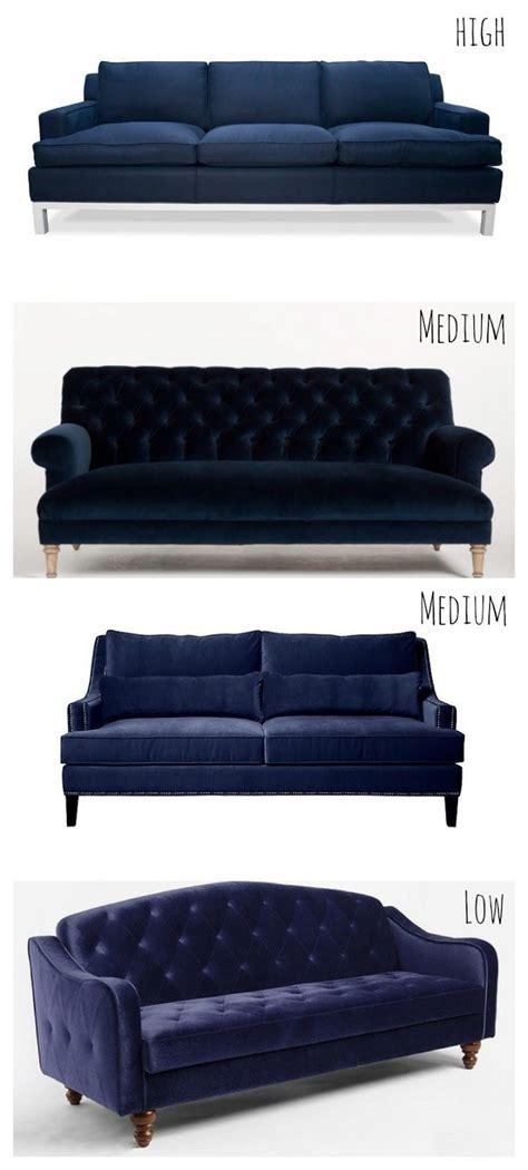 dark blue sofa bed 17 best images about livingroom recover on pinterest