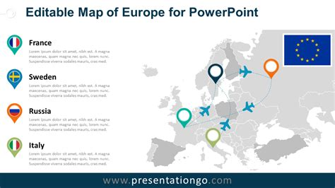 free editable maps for powerpoint webprodukcja com