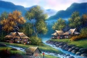 Small Patio Set For 2 Oriental Paintings Asian Grandeur