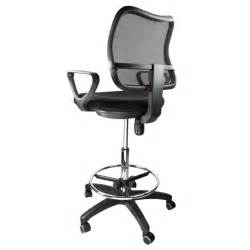 Office Chair Adjustable Armrest Drafting Chair Mesh Stool Armrest Ergonomic Adjustable