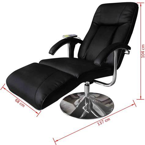 sillon electrico reclinable sill 243 n de masaje el 233 ctrico reclinable negro vidaxl es