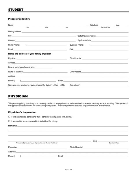 statement of fitness for work template dlm1 form seterms
