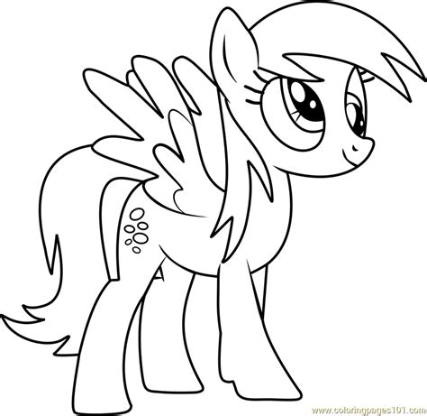 my little pony coloring pages derpy derpy hooves coloring page free my little pony