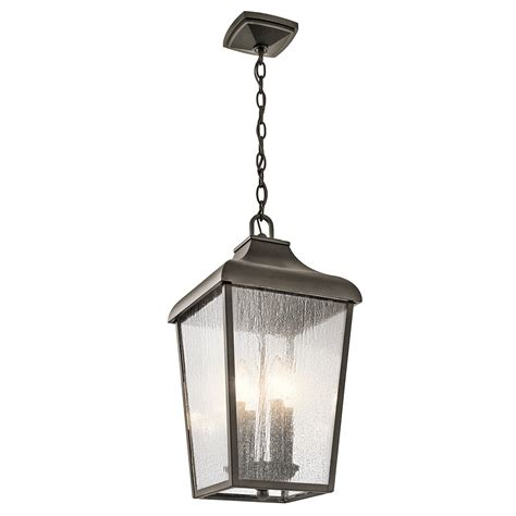 Outdoor Pendant 4lt 49740oz Elite Fixtures Kichler Lighting Customer Service