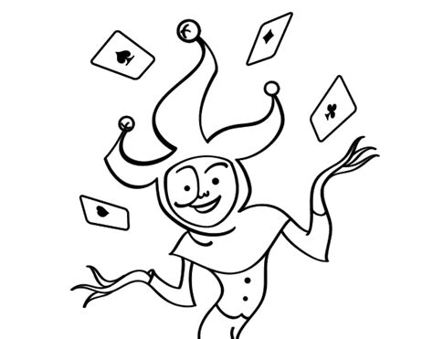 imagenes de un joker dibujo de joker para colorear dibujos net