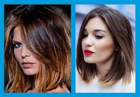 cortes de pelo de mujer media melena cortes de pelo medio tendencias cortes de pelo media