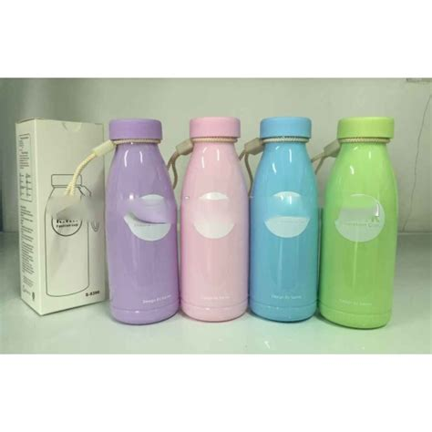 botol minum plastik milk insulation cup 360ml sm 8396