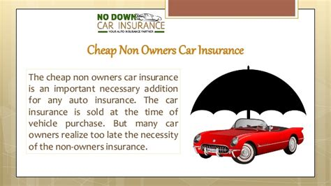 Non Owner Car Insurance by How To Get Non Owner Car Insurance In A Fast And