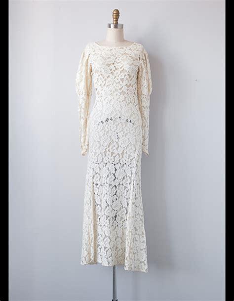robe mi longue en dentelle adored vintage 50 robes de