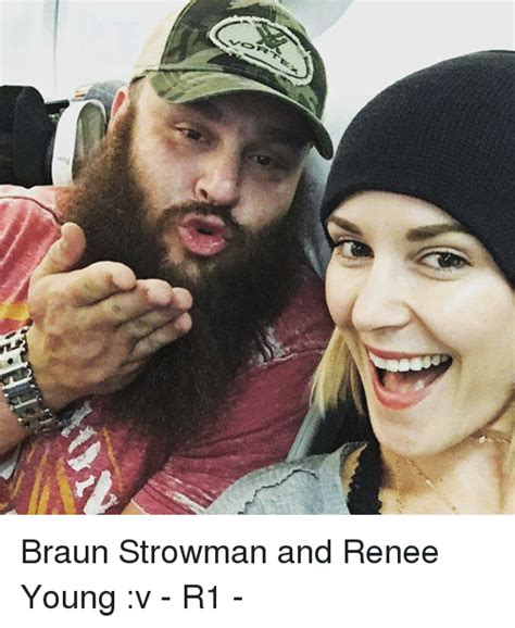 braun strowman and renee young v r1 meme on me me