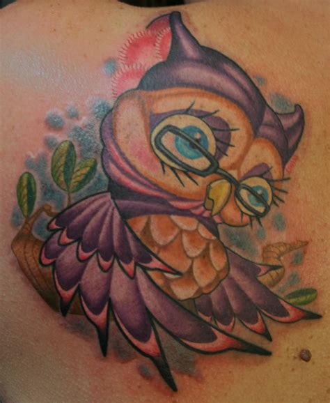 cartoon owl tattoo designs 20 owl tattoos design ideas for and magment