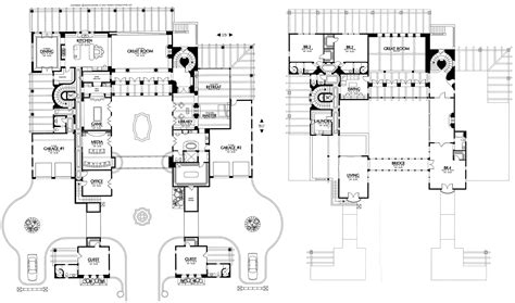 Santa Fe Style House Plans by Courtyard Home Plans Omahdesigns Net